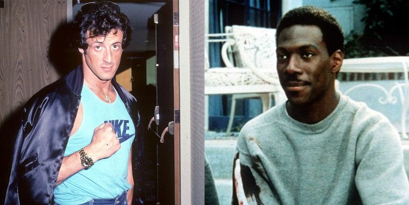 Beverly Hills Cop Sylvester Stallone recast