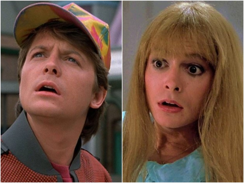 back to the future multiple roles