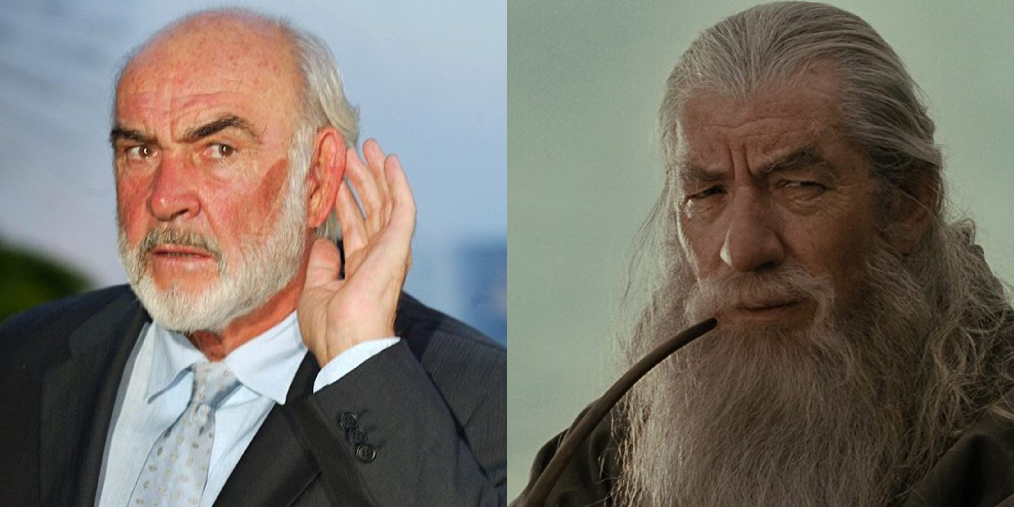 Lord of the Rings Sean Connery recast