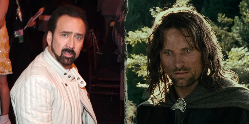 Lord of the Rings Nicholas Cage recast
