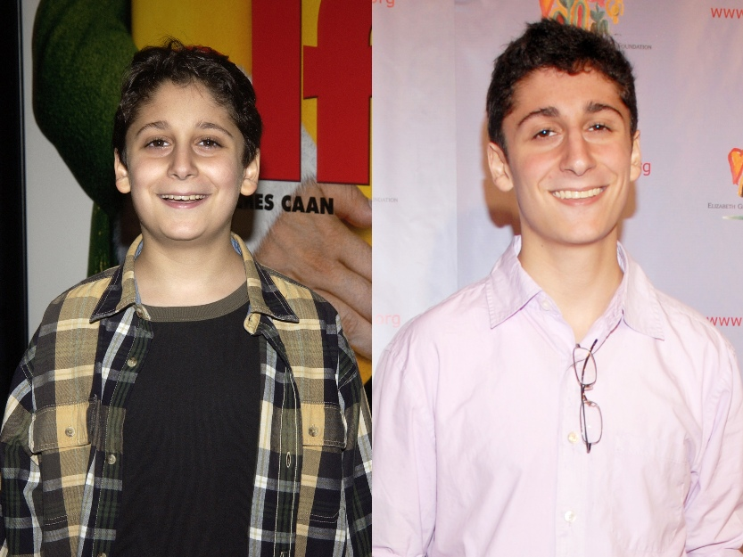 Photo from Elf premiere next to current photo