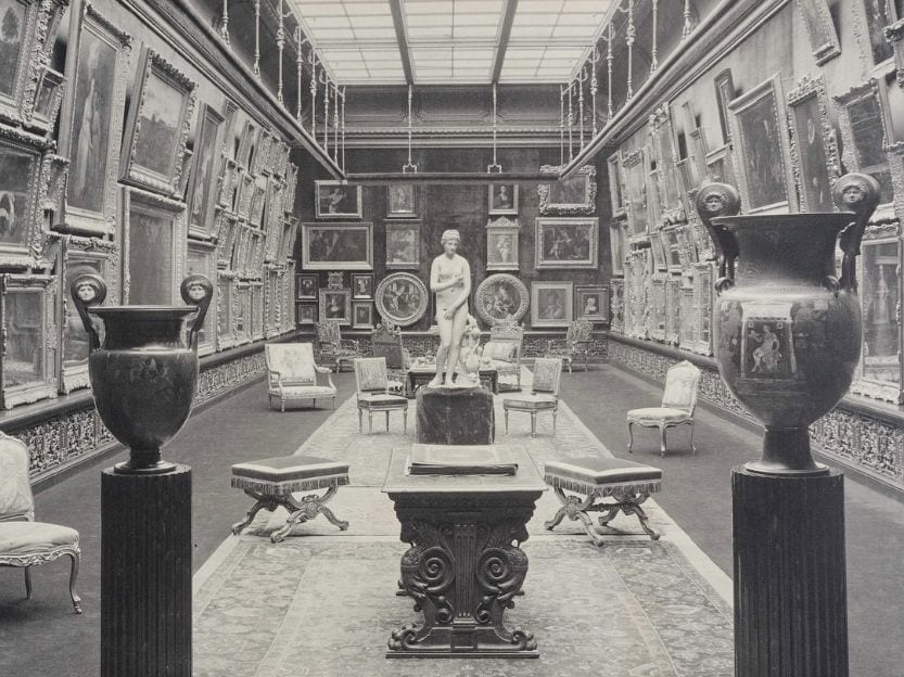 Lynnewood Hall art showroom titanic