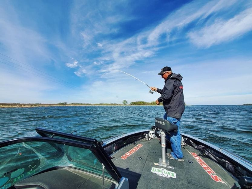 Devils Lake North Dakota fishing spots