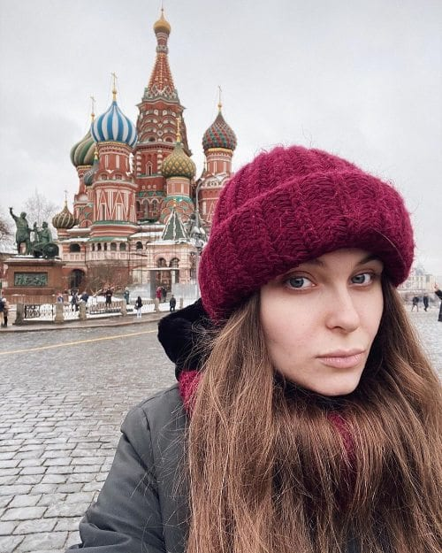 Woman in Moscow
