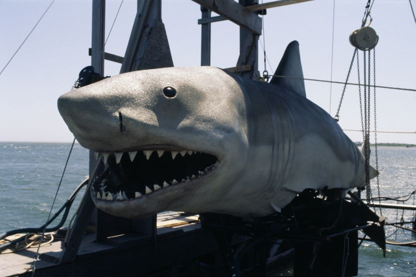 Mechanical shark from most expensive movie Jaws