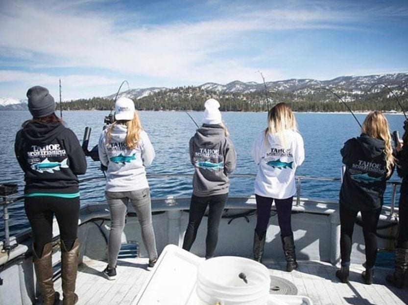Lake Tahoe fishing spots