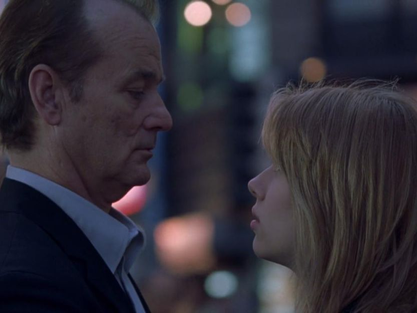 Lost In Translation movie kisses