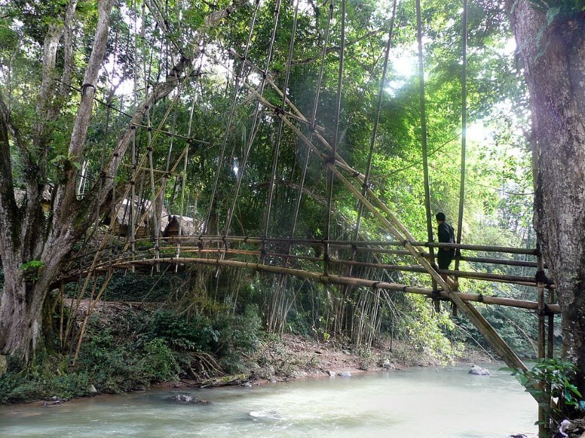 Mystery Bridge Indonesia dangerous bridges