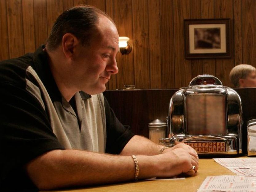 Tony Soprano tv bars and restaurants