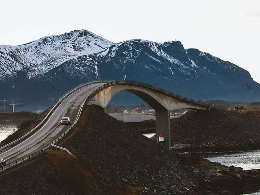 Storseisundet Bridge Norway dangerous bridges
