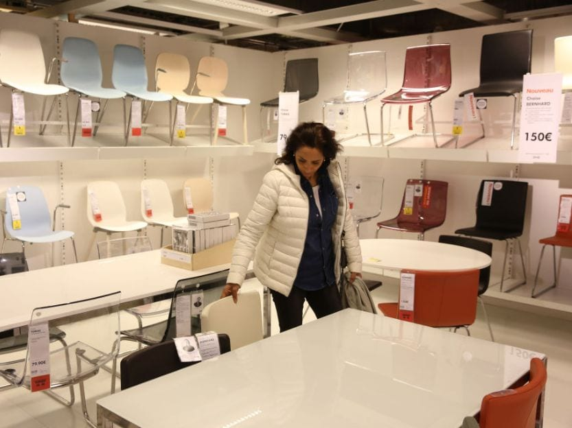 Shopping at Ikea Stores