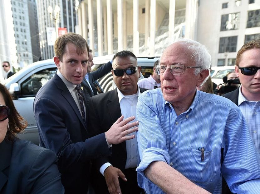Bernie Sanders: Intrepid