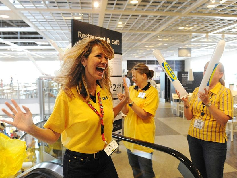 Ikea store employees