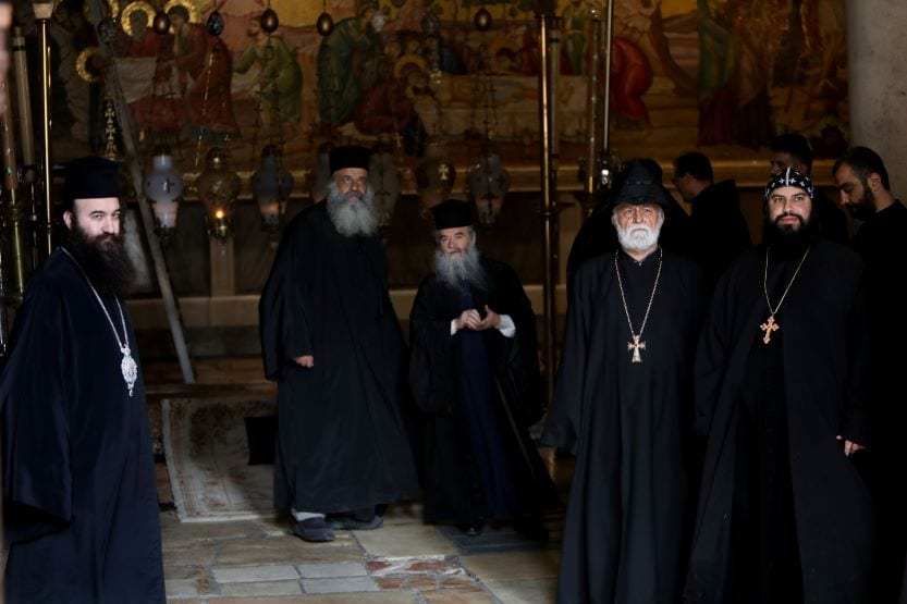 monks Church of Holy Sepulchre