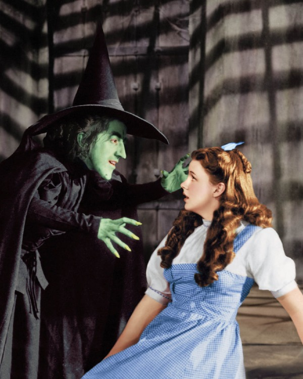 wizard of oz margaret hamilton wicked witch of the west