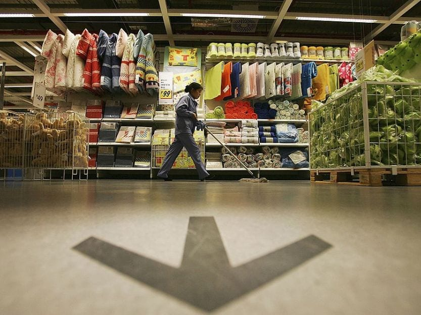 Ikea Stores shortcuts in stores