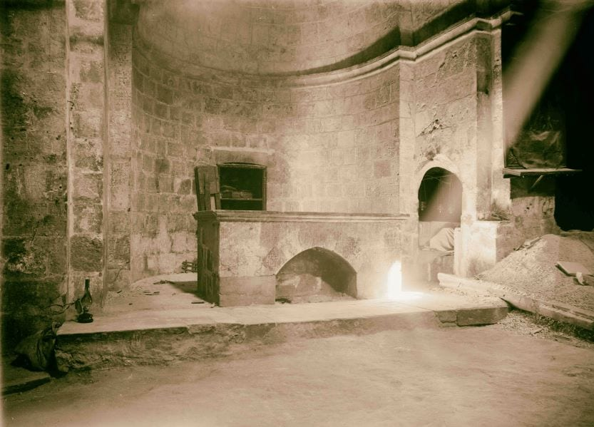 Crusader Tomb inside Church of Holy Sepulchre