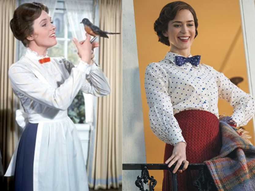 Iconic Character mary poppins