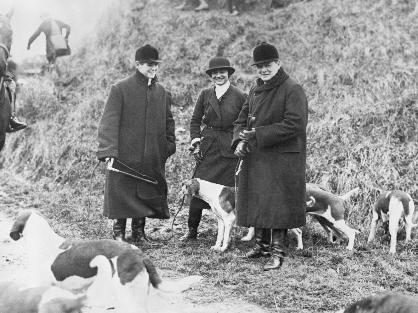 Chanel and Churchill Hunting
