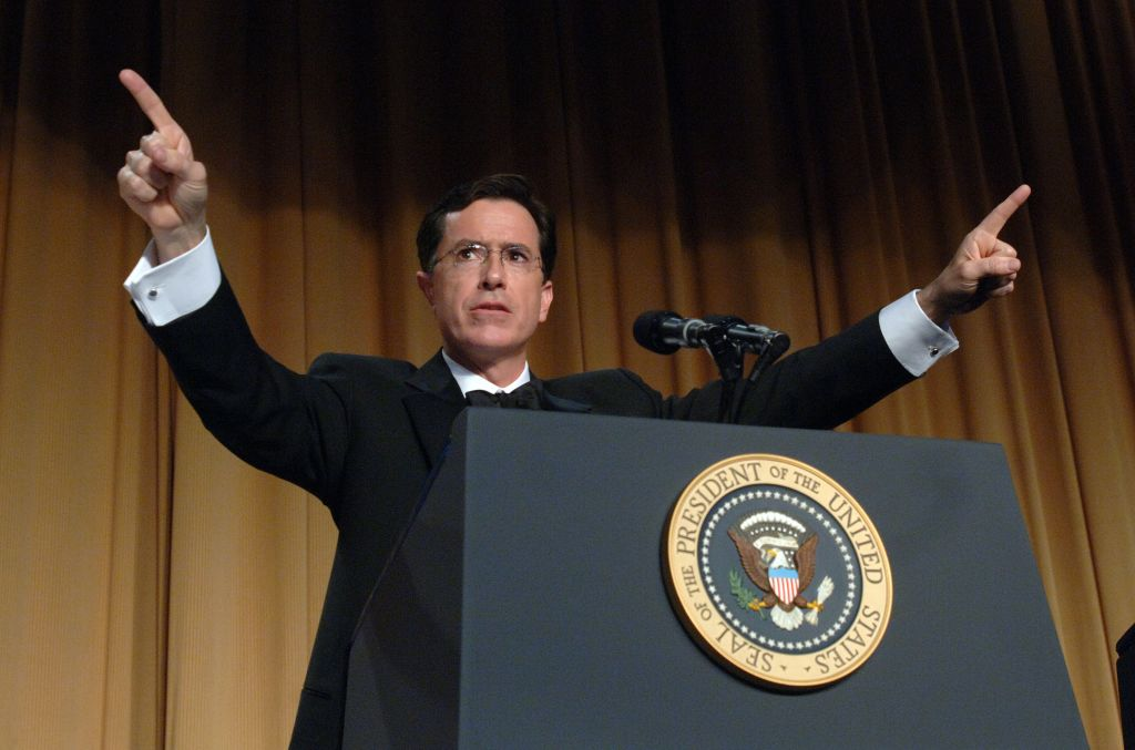 Stephen Colbert, America's most trusted news anchors