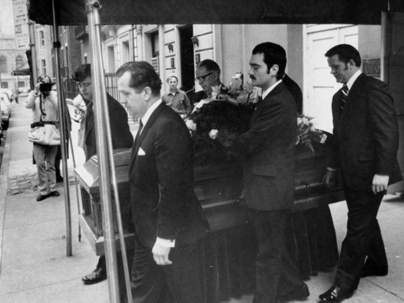 the godfather mob boss funeral