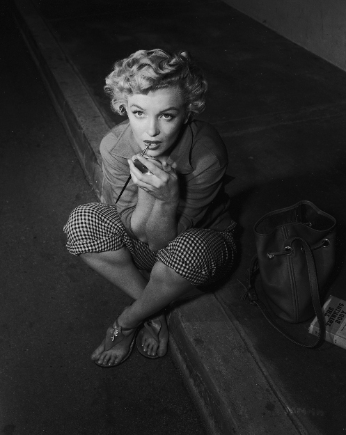 Marilyn on floor