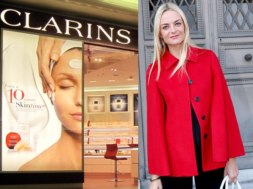 Virginie Courtin-Clarins heirs and heiresses