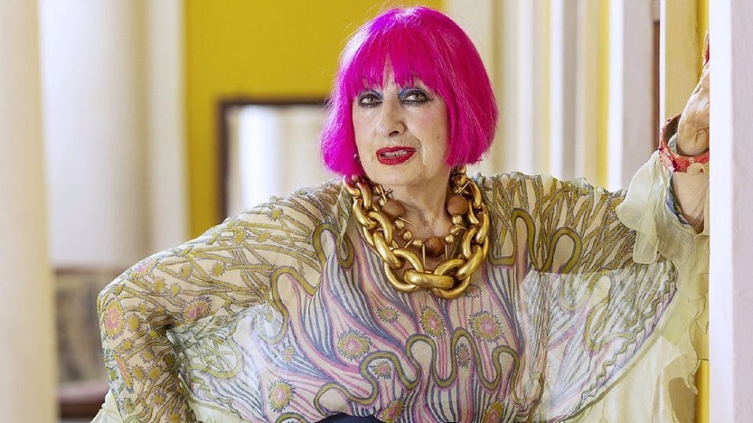 Zandra Rhodes women over 50 fashion
